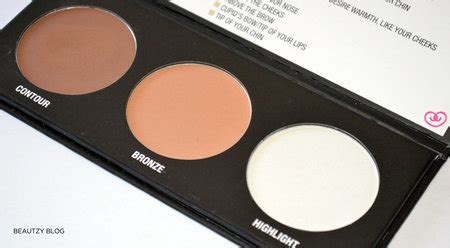 Makeup City Colour city color cosmetics contour effects palette review makeup bellashoot
