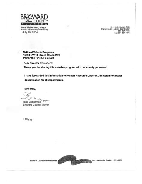 Broward College Acceptance Letter broward county florida national benefits programs