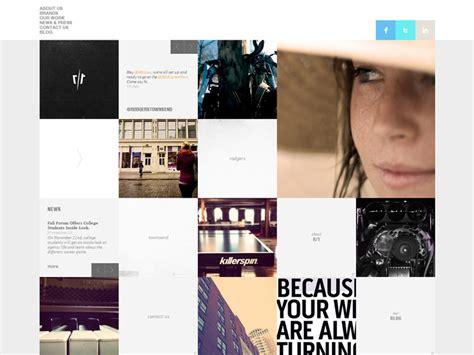 grid layout inspiration 30 grid based websites