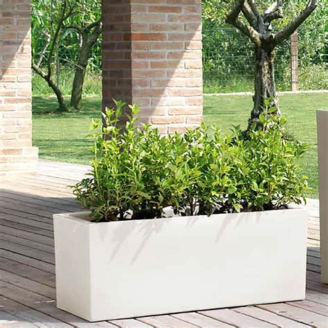 vaso da esterno vaso a cassa per giardino schio sacca