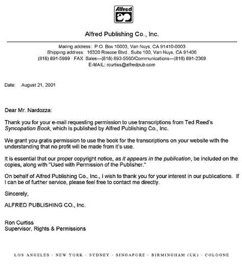 Permission Letter To Join permission letter exle