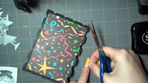 how to make a new year let s get crafty episode 52 happy new year card 2011