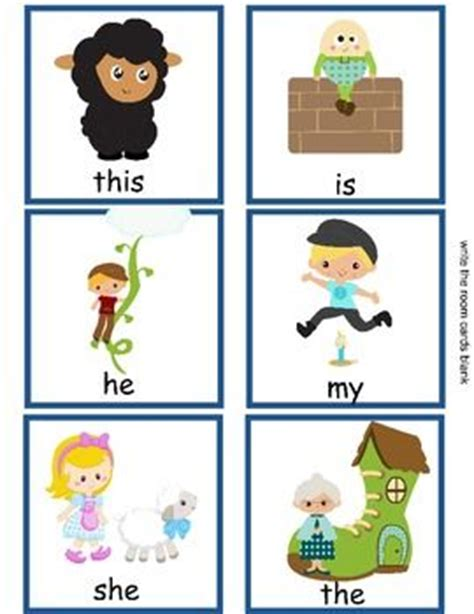 What Rhymes With Room by Nursery Rhyme Themed Write The Room With Sight Words