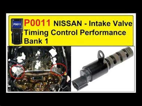 Nissan P0011 P0011 Nissan Intake Valve Timing Performance Bank