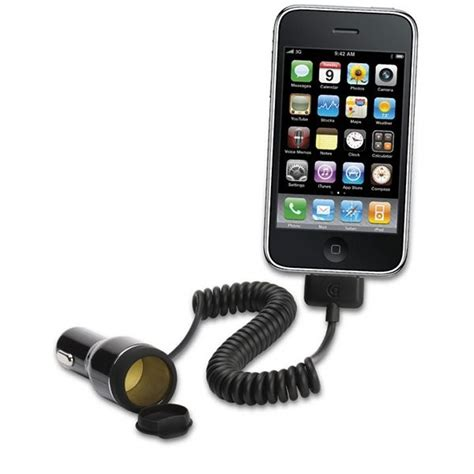 chargeur allume cigare pour iphone ipod et thisga