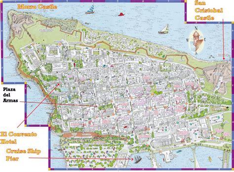 maps update 600465 tourist map of san juan