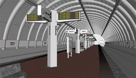 Visval Metro Brown metro s station of the future why mess with what works 171 city block