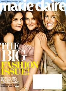 Drew Barrymore On March Cover Of by Drew Barrymore Covers Talks