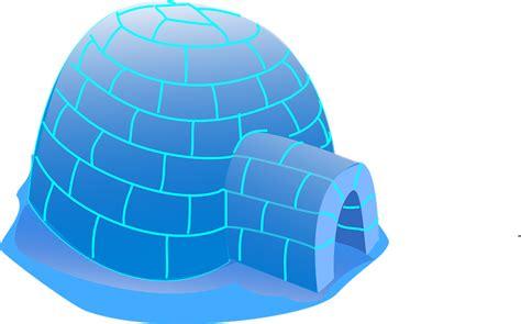 iglo haus kostenlose vektorgrafik iglu eskimo home polaren eis