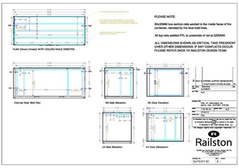 Container Conversion Case Studies 20ft Full Side Access