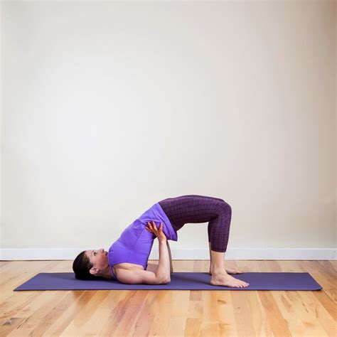 yoga poses before bed bridge pose this yoga sequence is even better than a