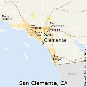 san clemente map california best places to live in san clemente california