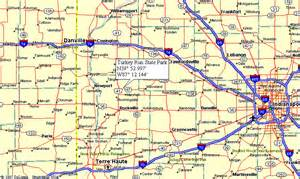 map of indiana state parks pictures to pin on