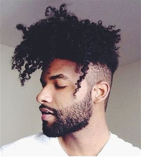 mens afro faded sides long on top hairstyles mens fade haircuts 54 cool fade haircuts for men and boys