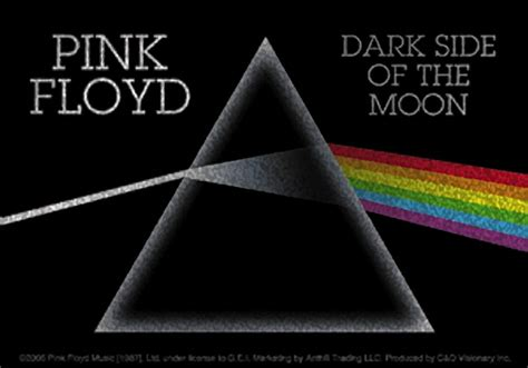 Home Decor Reviews by Pink Floyd The Dark Side Of The Moon Glitter Sticker