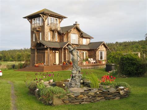 House With Tower | the tower house at agate beach vrbo
