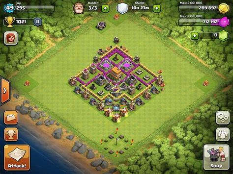 layout kuat coc th 6 design base th 6 trophy base all about coc