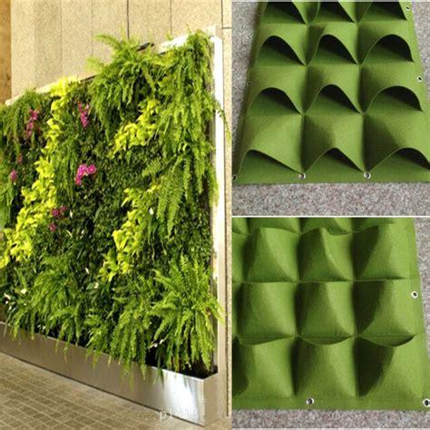 pockets outdoor indoor wall herbs vertical garden