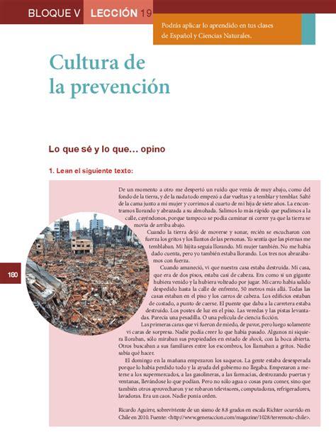 el libro de5grado de primaria de formacion cultura de la prevenci 243 n formaci 243 n c 237 vica y 201 tica 6to