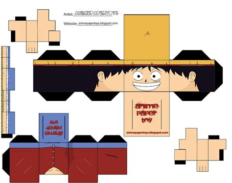 Miniatur One Isi 3 800115050 cube papercraft anime one this is my