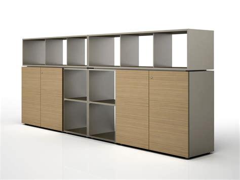 modular wooden office storage unit case by estel group