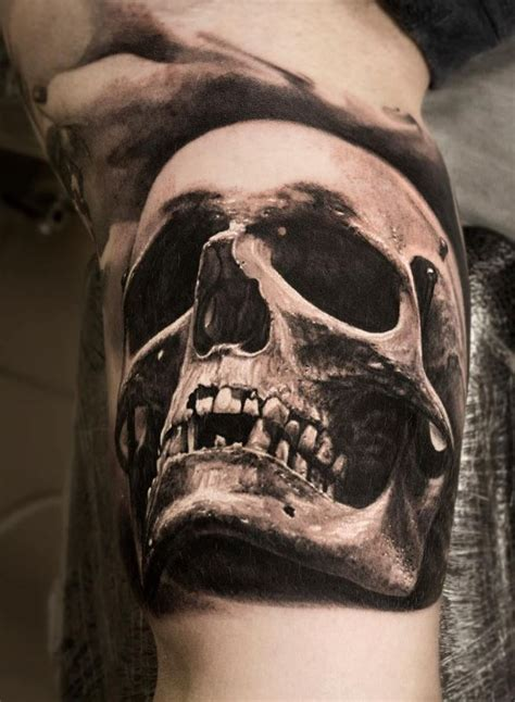 shaded skull tattoo designs 101 top skull tattoos and designs for
