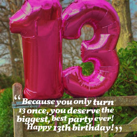 13 Year Birthday Quotes Quotes For Girls 13th Birthday Quotesgram