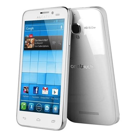 Hp Alcatel One Touch Snap Lte alcatel one touch snap and snap lte unveiled tech prezz