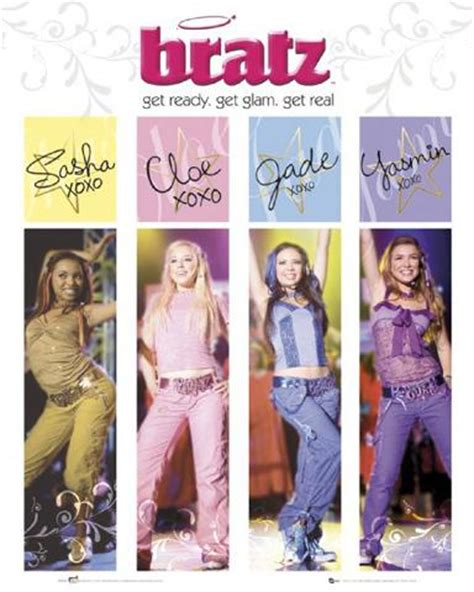 Hangers For Curtains Bratz The Movie Get Real I Mini Posters Buy Posters