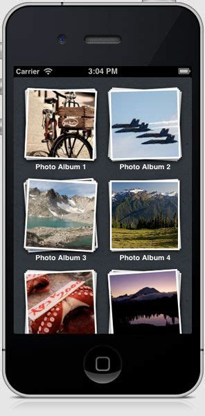 custom layout for uicollectionview uicollectionview custom layout tutorial skeuo ios