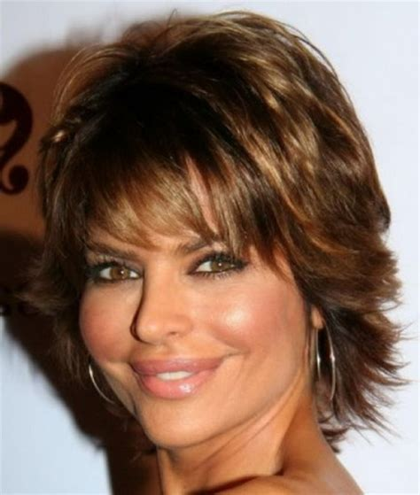hair styles for the over 50s heavily layered into the neck hairstyles with bangs for women over 50