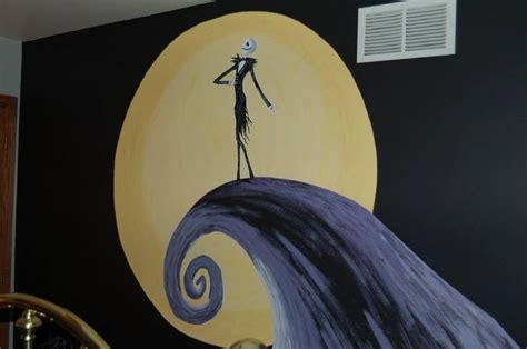 nightmare before wall mural nightmare before