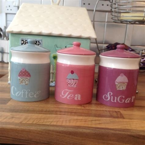 cupcake canisters for kitchen best 25 tea coffee sugar canisters ideas on tea and coffee jars kitchen canisters