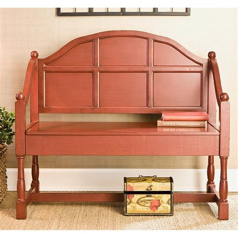 cottage bench cottage style storage bench 143907 living room at