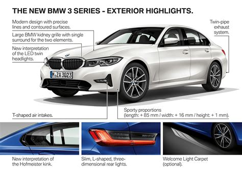Bmw 3 Series 2019 Luxury Line by Bmw 3 Serie 2019 Teknikens V 228 Rld
