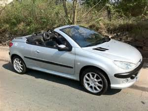 Peugeot 206 Convertible Cars For Sale Used Silver Peugeot 206 2002 Petrol 2 0 Se 2dr Convertible