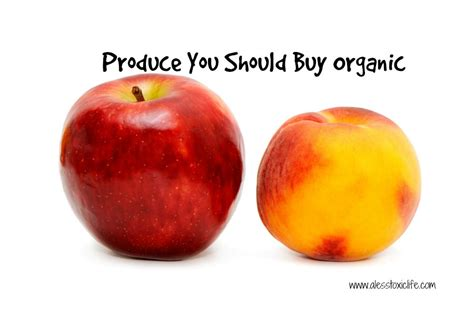 fruits u should buy organic produce you should buy organic if you are on a budget