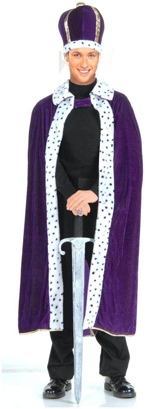Bathrobe Crown king robe crown costume kit spicylegs