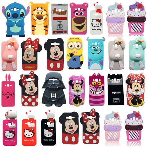 For Iphone 7 Plus Soft Minnie Casing Silikon T0310 3d soft silicone rubber cover for samsung