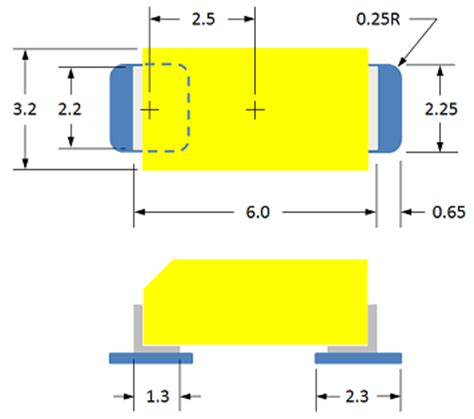 tantalum capacitor land pattern pcb design perfection starts in the cad library part 3 171 tom hausherr s