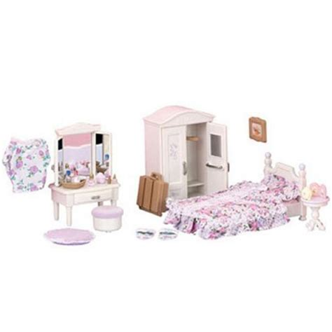 Sylvanian Families Bedroom Set sylvanian families guest bedroom set toys thehut