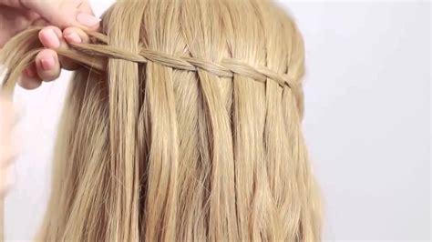 paso a paso trenza cascada paso a paso waterfall braid hairfeed