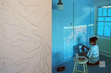 Рисунок на стене в квартире своими руками поэтапно