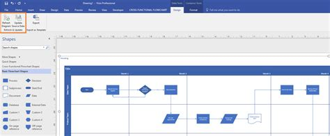 visio updates insiders data visualizer for process diagrams in visio