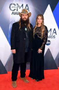chris and morgane stapleton see all the stars on the cma