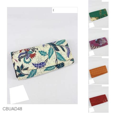 Set Dompet Dompet Stnk Unik Motif dompet tanggung motif batik warna sejagad dompet batik murah batikunik