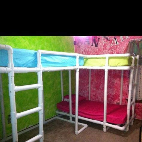 pvc bed easy pvc pipe projects anyone can make recycled things