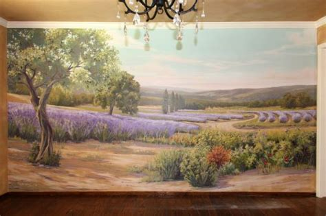 Dining Room Paintings by Landscape Amp Nature Murals Morgan Mural Studios