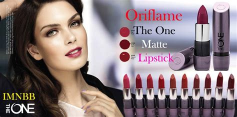 Lipstik The One Oriflame oriflame the one matte lipstick review