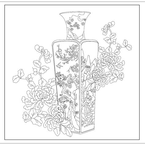 chinese garden coloring pages an anti stress coloring secret garden